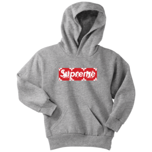 Supreme x Louis Vuitton Logo Youth Hoodie