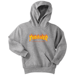 Thrasher Flame Logo Youth Hoodie