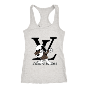 Snoopy Louis Vuitton Logo Women's Tank Top