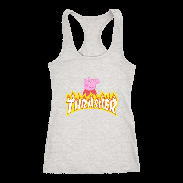 Peppa Pig Thrasher Premium Womens Tank Top