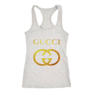 Gucci Gold Logo Women's Tank Top