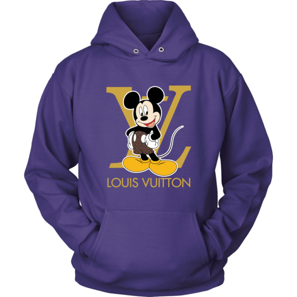 Louis Vuitton Mickey Mouse Unisex Hoodie