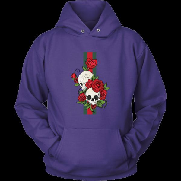 Roses Of Gucci Skull Premium Unisex Hoodie