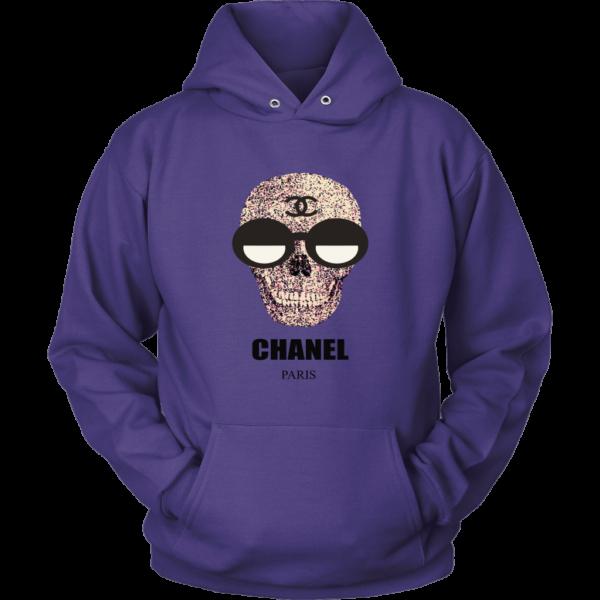 Chanel Skull Logo Unisex Hoodie