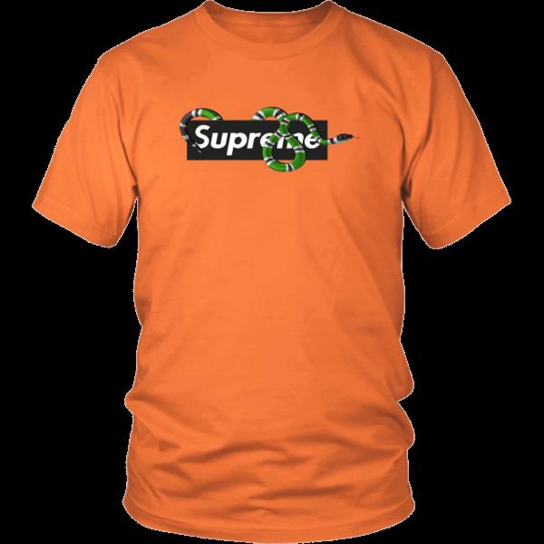 Supreme Snake Logo Limited Edition Unisex Shirt