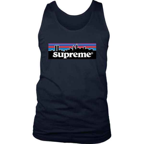 Supreme Patagonia Logo Mens Tank Top