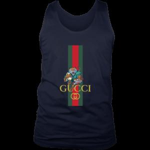 Gucci Tiger Rugby Logo Premium Mens Tank Top
