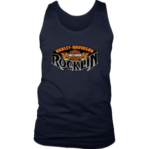 Harley Davidson Of Rocklin Mens Tank Top