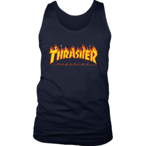 Thrasher Flame Logo Mens Tank Top