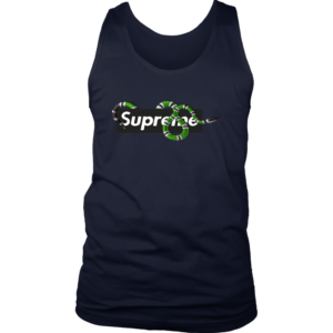 Supreme Snake Logo Limited Edition Mens Tank Top