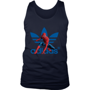 Spiderman Adidas Marvel Logo Mens Tank Top