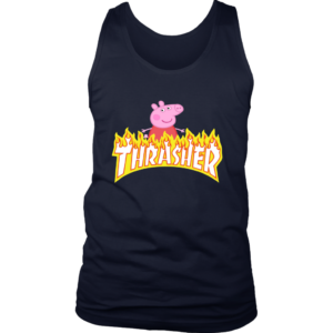 Peppa Pig Thrasher Premium Mens Tank Top