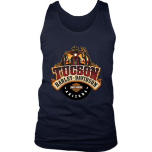 Harley Davidson Of Tucson Mens Tank Top