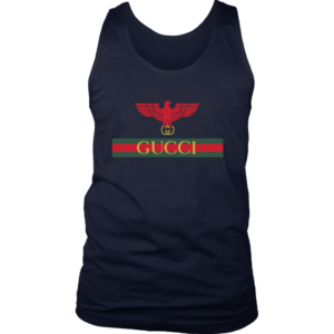Gucci Red Eagle Bird Mens Tank Top