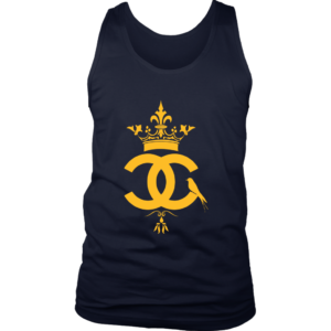Coco Chanel Logo Premium Mens Tank Top
