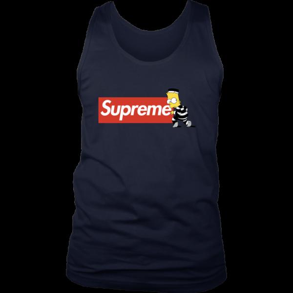 Bart Simpson Supreme Mens Tank Top