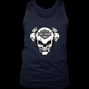 Harley Davidson Skull Mens Tank Top