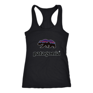 Patagonia Fitz Roy Bear Womens Tank Top