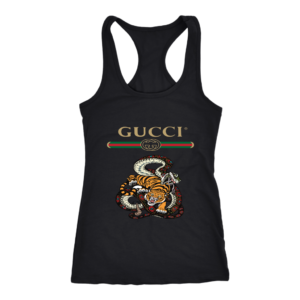 Gucci Logo Edition Tiger Vs Snake Women's Tank Top