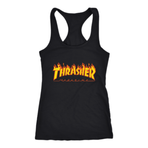 Thrasher Flame Logo Women's Tank Top