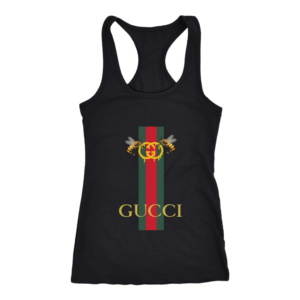 Gucci Bee Logo Drip Women's Tank Top