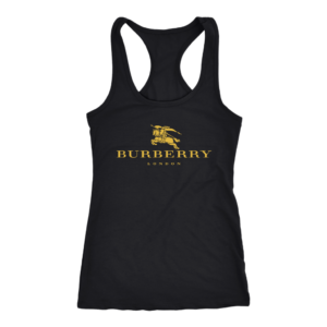 Burberry Gold Edition Logo Women's Tank Top