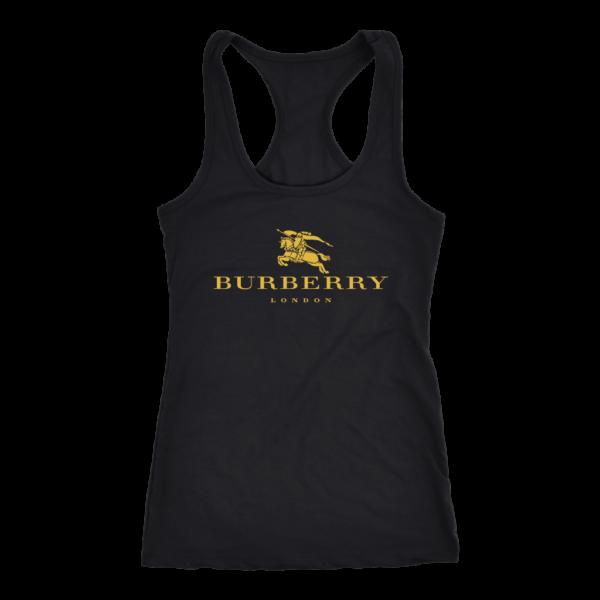 Burberry Gold Edition Logo Women's Tank Top