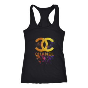 CoCo Chanel Gold Logo Limited Edition Women's Tank Top