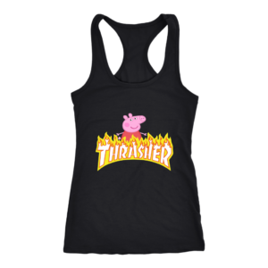 Peppa Pig Thrasher Premium Womens Tank Top