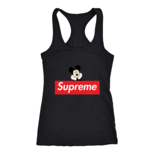 Supreme Mickey Mouse Logo Premium Women's Tank Top