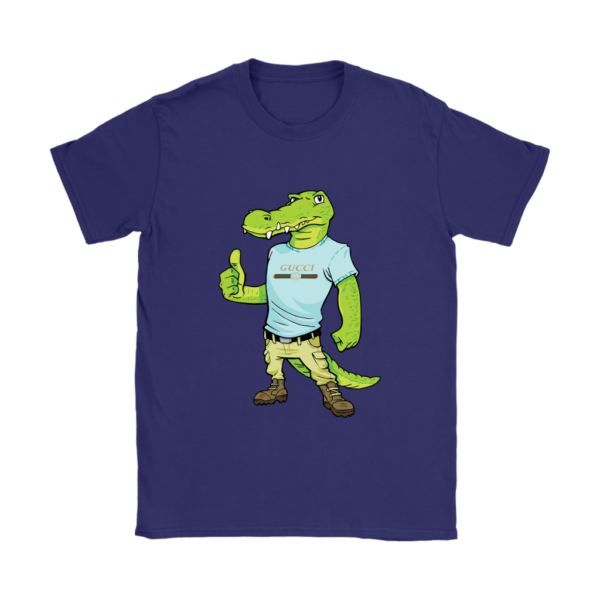 Crocodile Gucci Alligator Printed Womens T-Shirt