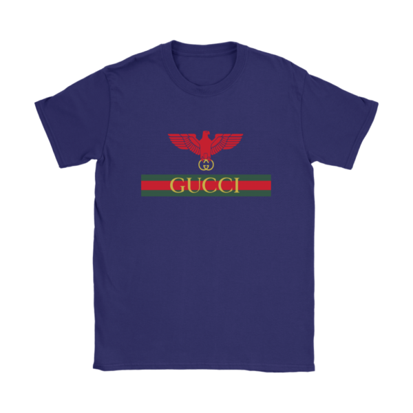 Gucci Red Eagle Bird Womens T-Shirt