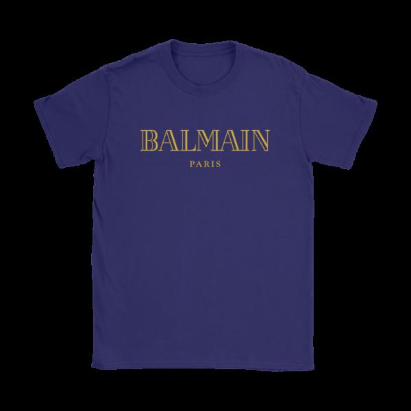 Balmain Gold Logo Womens T-Shirt