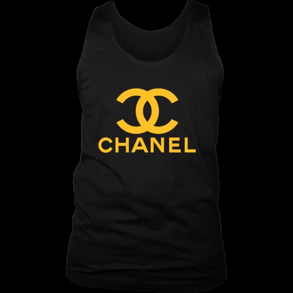 CoCo Chanel Logo Mens Tank Top
