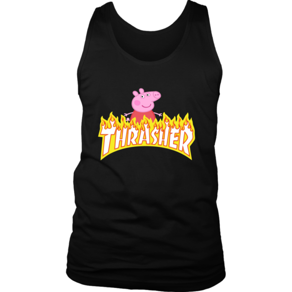 Peppa Pig Thrasher Premium Mens Tank Top