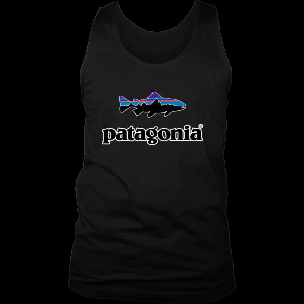 Patagonia Fish Logo Mens Tank Top