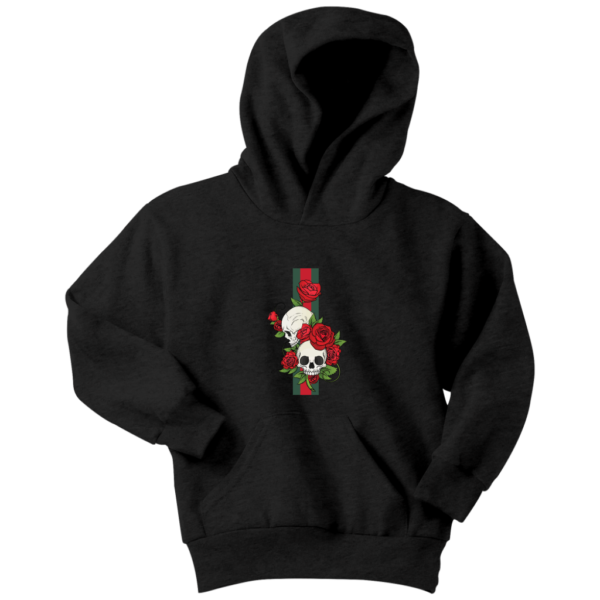 Roses Of Gucci Skull Premium Youth Hoodie