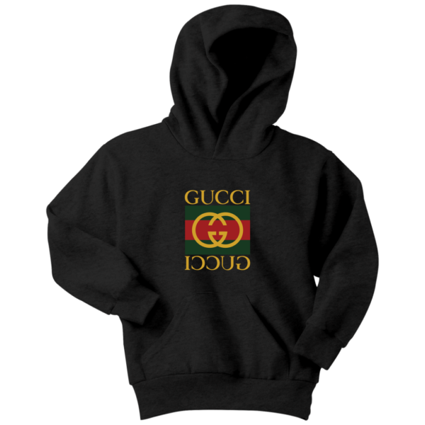Gucci Logo Premium Youth Hoodie