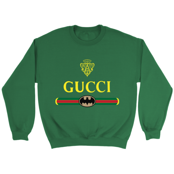 Gucci Logo With Batman Crewneck Sweatshirt