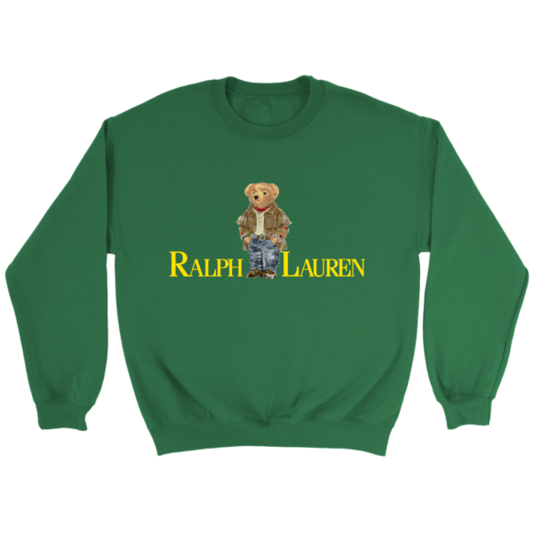 Ralph Lauren Bear Crewneck Sweatshirt