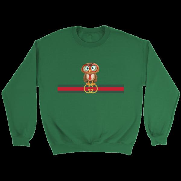 Gucci Owl Premium Limited Crewneck Sweatshirt