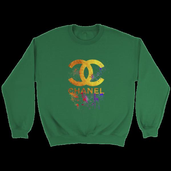 CoCo Chanel Gold Logo Limited Edition Crewneck Sweatshirt