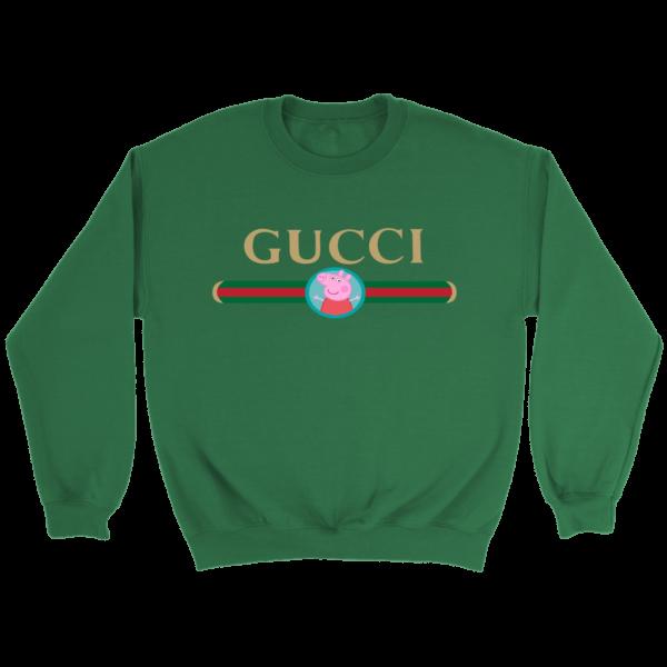 Peppa Pig Gucci Logo Premium Crewneck Sweatshirt
