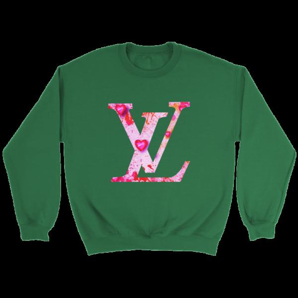 Louis Vuitton Love Logo Crewneck Sweatshirt