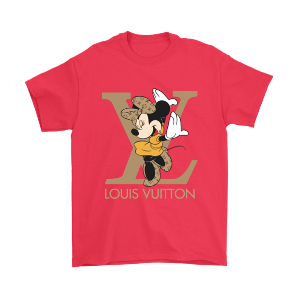 Minnie Mouse Louis Vuitton Edition Mens T-Shirt