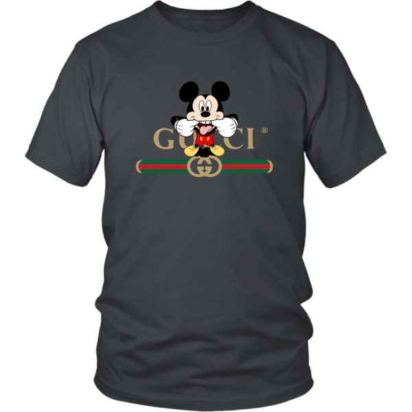 Gucci Logo Mickey Mouse Clubhouse Disney Unisex Shirt