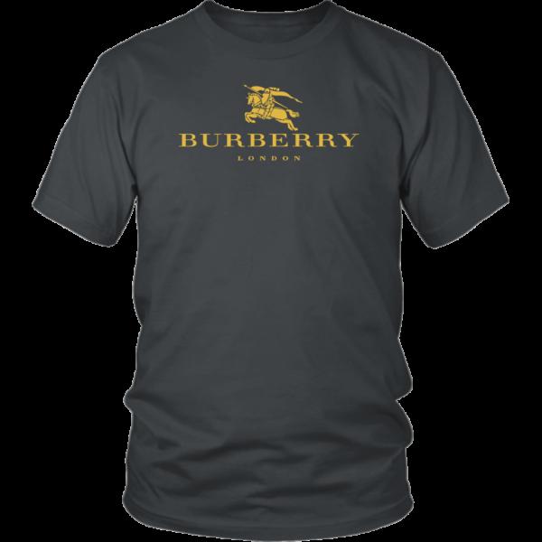 Burberry Gold Edition Logo Unisex Shirt