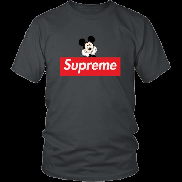 Supreme Mickey Mouse Logo Premium Unisex Shirt