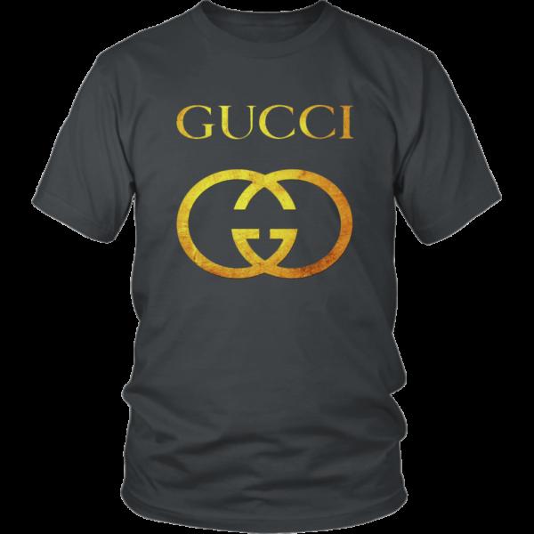 Gucci Gold Logo Unisex Shirt