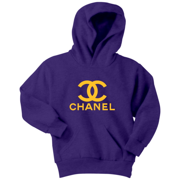 CoCo Chanel Logo Youth Hoodie